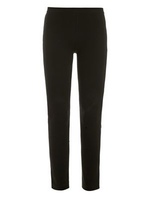 Zipped hem leggings