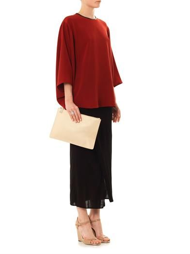 Givenchy Ruched jersey skirt