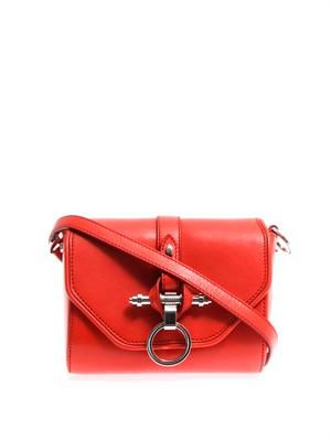 Obsedia leather cross-body bag