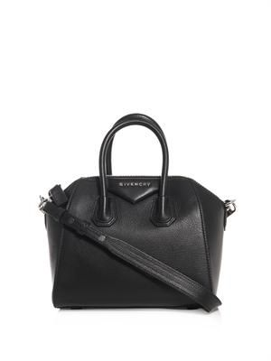 Antigona mini leather cross-body bag