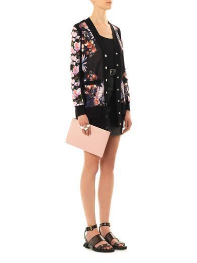 Givenchy PVC embellished-heel sandals