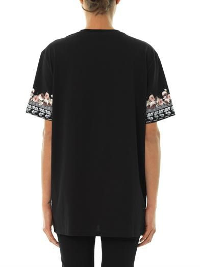 Givenchy Shark-print cotton T-shirt