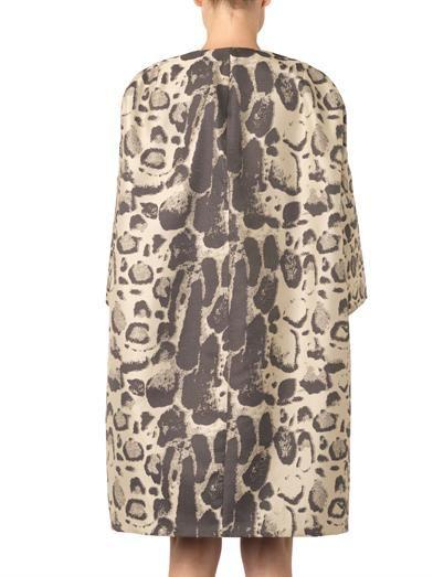 Giambattista Valli Leopard-jacquard coat