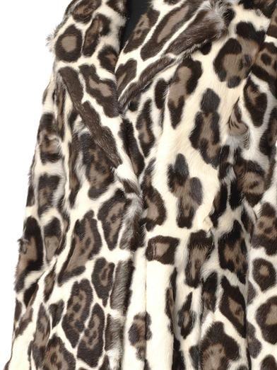 Giambattista Valli Leopard-print fur coat