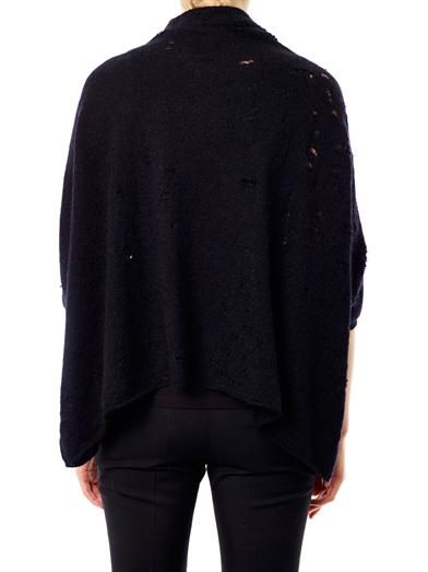 Giambattista Valli Mohair batwing-sleeved sweater