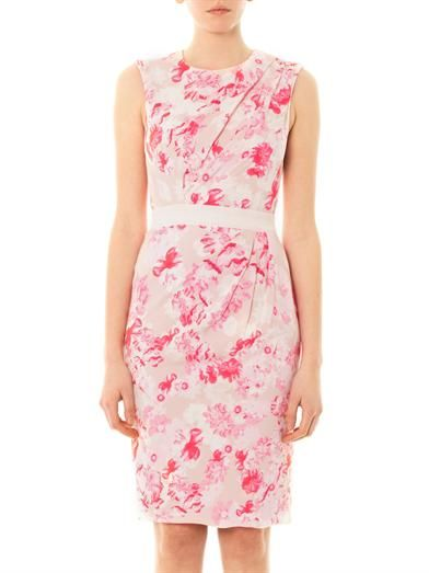 Giambattista Valli Floral-print sleeveless dress