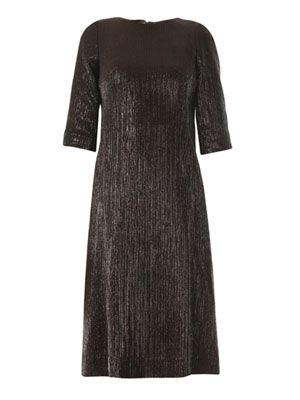 Nesta sparkle stripe dress