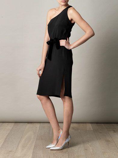 Goat Marina one-shoulder dress