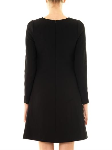 Goat Tia wool-crepe dress