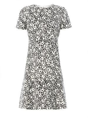 Tilly floral-print bouclé dress