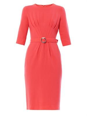 Scarlett pleat-front dress