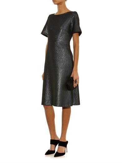 Goat Virtue wool-crepe dress