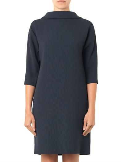 Goat Vogue wool-crepe dress
