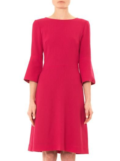 Goat Pandora wool-crepe shift dress