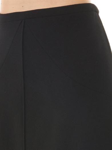 Goat Virgil A-line skirt