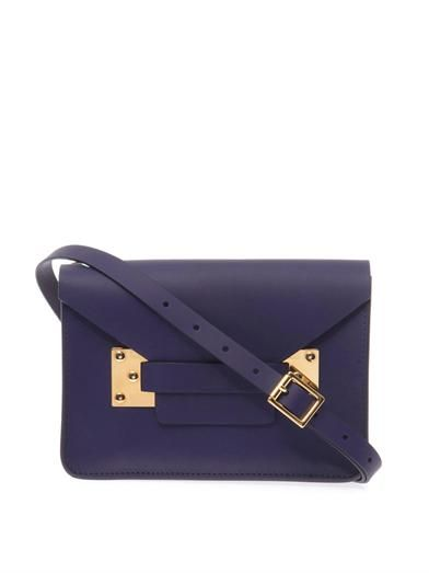 Sophie Hulme Mini envelope cross-body bag