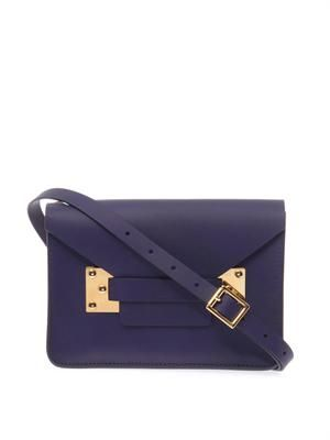 Mini envelope cross-body bag