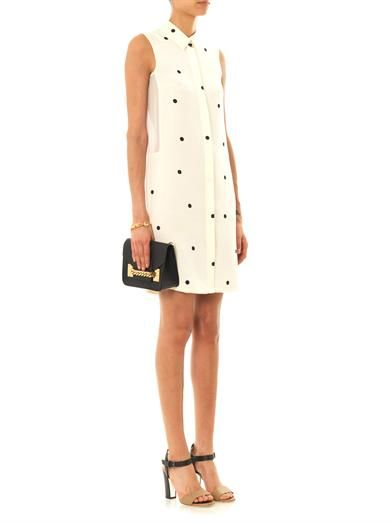 Sophie Hulme Polka-dot silk dress