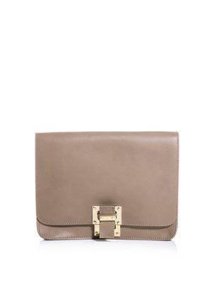 Double layered shoulder bag