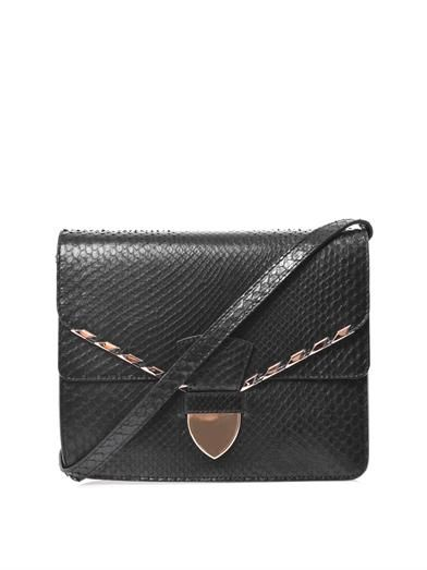 Sophie Hulme Spear tab cross-body bag