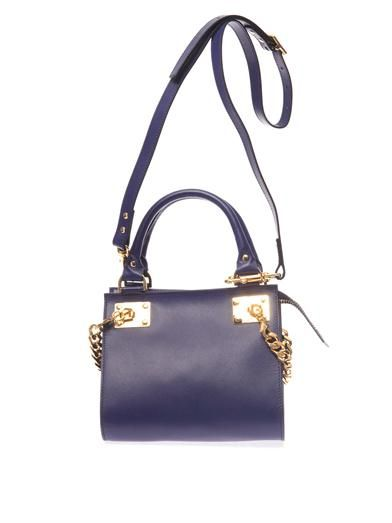 Sophie Hulme Mini chain-side tote