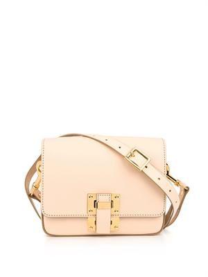 Box Flap leather bag