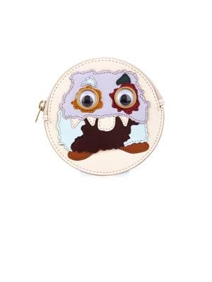 Monster leather coin pouch