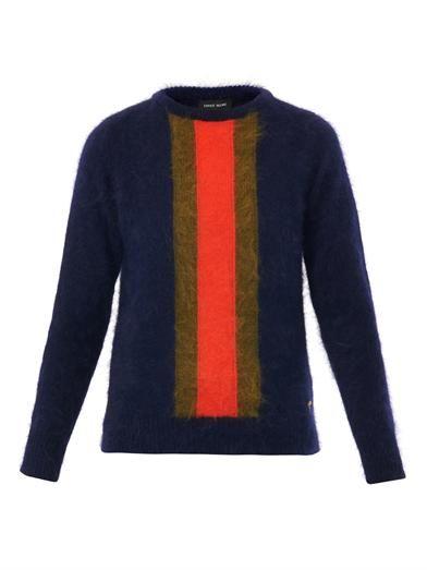 Sophie Hulme Stripe angora sweater