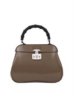 Lady Lock medium leather tote
