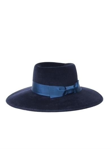 Gucci Felted velour wide-brimmed hat
