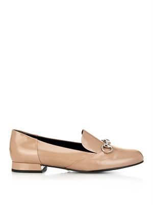 Lillian Regent leather horsebit loafers