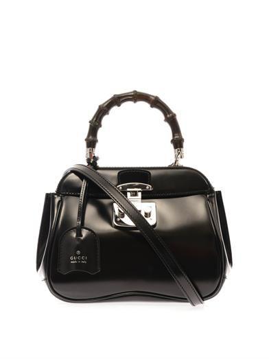 Gucci Lady Lock Mini leather and bamboo bag