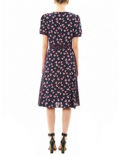 Gucci Bow and heart print tea dress