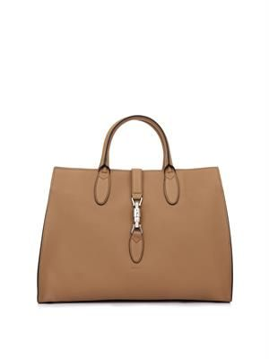 Jackie leather tote