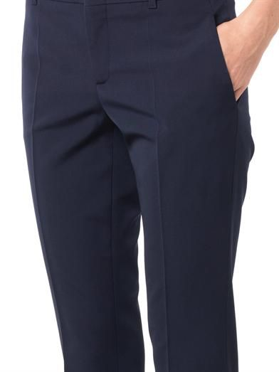Gucci Flared-leg tailored trousers