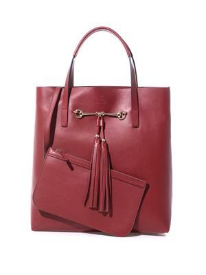 Park Avenue leather tote
