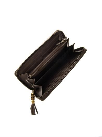 Gucci Rania zip-around leather wallet