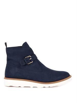 Bonnie faux-suede platform boots