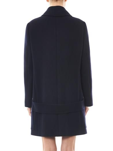 Stella McCartney Forde melton wool coat
