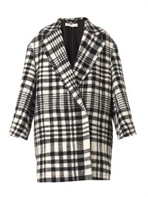 Fonny double-breasted blanket coat