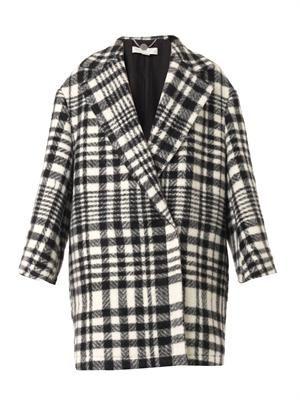 Fonny double-breasted blanket coat