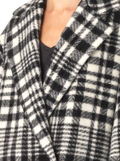 Stella McCartney Fonny double-breasted blanket coat