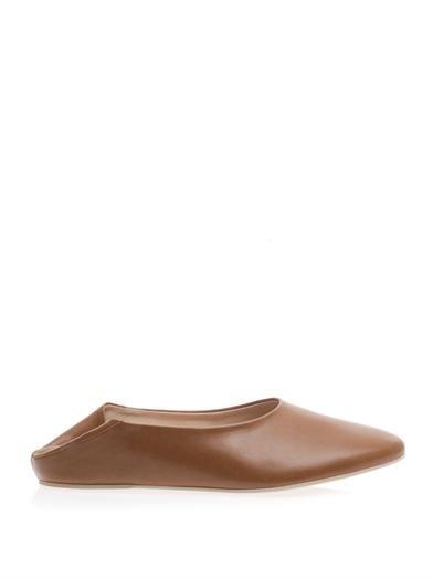 Stella McCartney Faux-leather ballet flats