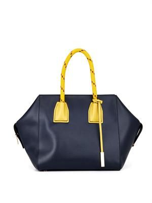 Cavendish faux-leather tote