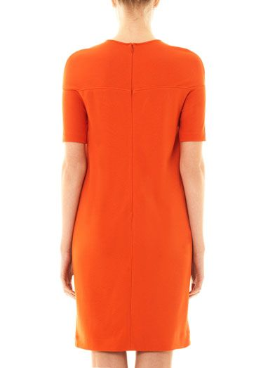 Stella McCartney Sweetheart neckline jersey dress
