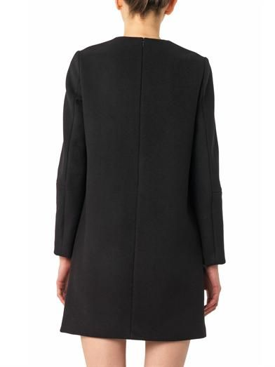 Stella McCartney Ivette embroidered melton-wool dress