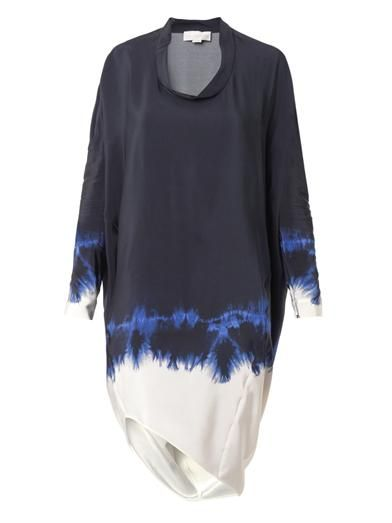 Stella McCartney Adalyn tie-dye silk dress