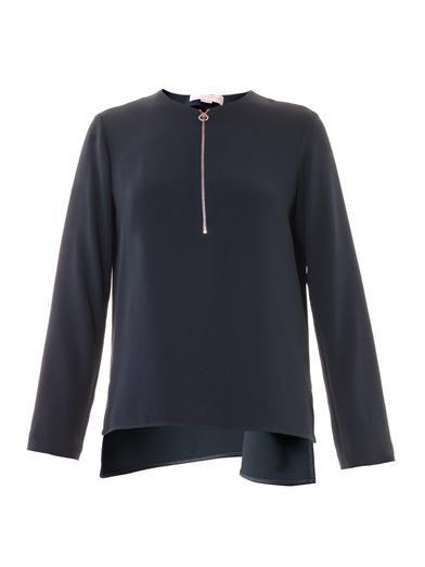 Stella McCartney Arlesa zip blouse