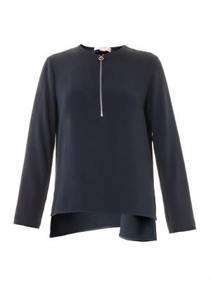 Arlesa zip blouse