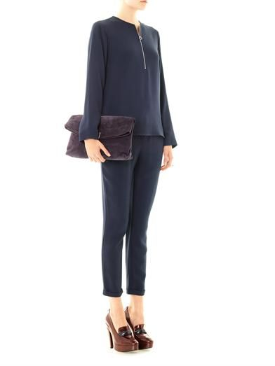 Stella McCartney Arlesa zip blouse